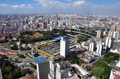 São Paulo Ogólny widok obraz stock