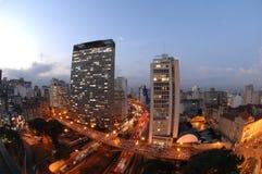 São Paulo Postkarte lizenzfreies stockbild