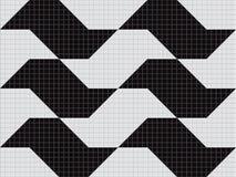 São Paulo sidewalk. Design made in Corel Draw Vector Royalty Free Stock Photo