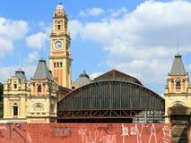 São Paulo Train Station immagini stock