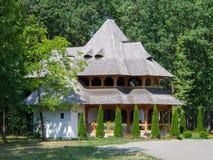 Monastery Sapanta-Peri, Maramures, Romania. Săpânţa Peri monastery was founded in 1997 in the border village Săpânţa, the desire to resume the historical Stock Images