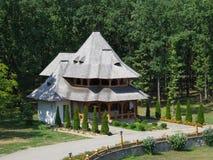 Monastery Sapanta-Peri, Maramures, Romania. Săpânţa Peri monastery was founded in 1997 in the border village Săpânţa, the desire to resume the historical Royalty Free Stock Images