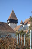 Sächsische Wehrkirche, Siebenbürgen lizenzfreie stockfotografie