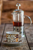 Säck av kaffe arkivbild