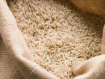 säck för basmati rice Royaltyfri Foto