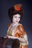 säckresakvinna Royaltyfria Foton