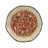 Sädes- choklad Berry Chips för Granola Arkivfoton