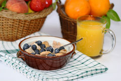 Sädes- frukost Royaltyfri Bild