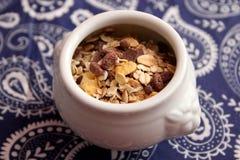 Sädesslag med choklad Royaltyfri Bild