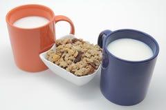 Sädesslag och mjölkar Arkivbilder