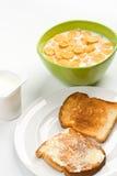 sädesslag rostar yoghurt Arkivfoton