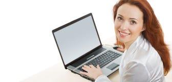 säker affärskvinna arkivbilder