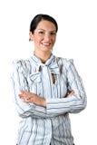 Säker affärskvinna Royaltyfria Bilder