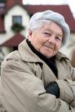 säker gammalare personsjälv Royaltyfria Bilder