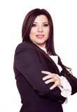 säker kvinna Fotografering för Bildbyråer