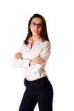säker kvinna för affär Fotografering för Bildbyråer