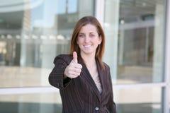 säker kvinna för affär Royaltyfri Fotografi