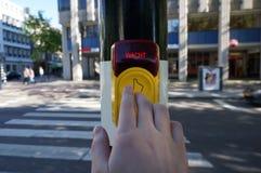 Säker trafik Fotografering för Bildbyråer