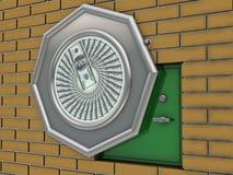 säker vägg Arkivfoton
