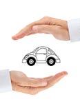 Säkerhet av din bil Royaltyfria Foton