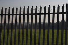 säkerhet för 3 staket Fotografering för Bildbyråer