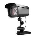 säkerhet för kameracopyspace alldeles Fotografering för Bildbyråer