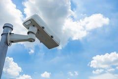 säkerhet för kameracopyspace alldeles Royaltyfria Foton