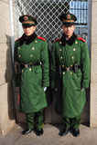 Säkerhet i den Beijing gångtunnelen Royaltyfri Fotografi