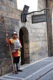 Säkerhet Prague Royaltyfri Fotografi