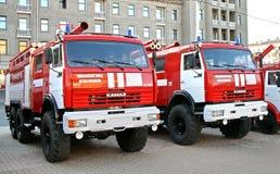 säkerhet ufa för 2009 brand Fotografering för Bildbyråer