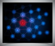 Säkerhetsbegrepp Arkivfoton