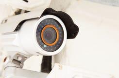 Säkerhetsbevakningkamera Arkivbild