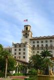 Säkerhetsbrytare hotell, Palm Beach, Florida Arkivbild