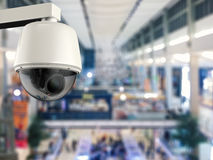 säkerhetskamera för tolkning 3d eller cctv-kamera Arkivfoton