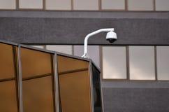 Säkerhetskamera och stads- video Royaltyfri Bild