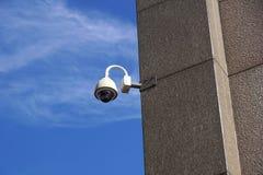 Säkerhetskamera och stads- video Royaltyfri Foto