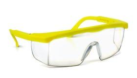 Säkerhetsskyddsglasögon Fotografering för Bildbyråer