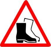 Säkerhetstecken, tecken för anställningstrygghet för maskering för skydd för kläderdammgas Var säker att använda varning för damm Arkivfoto