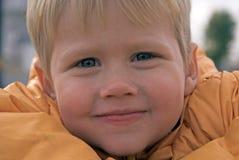 säkert se för pojke ungt Royaltyfri Fotografi