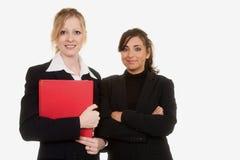 säkra kvinnor för affär royaltyfri foto