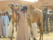 Säljare och gods, UAE arkivbild