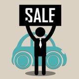 Säljare och kartell Arkivbild