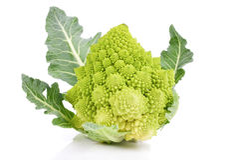 Sällsynt broccoli arkivbild