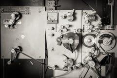 Sällsynt industriell för filmskrivare för bio 35mm tappning för detalj Royaltyfri Fotografi