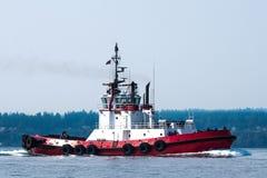 Sänd bruk av bogserbåten - rutt till Seattle Fotografering för Bildbyråer