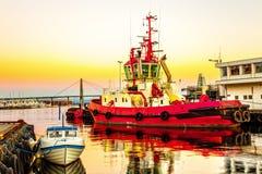Sänd i port Royaltyfri Bild