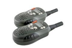 sändare för bärbar radio två royaltyfri bild