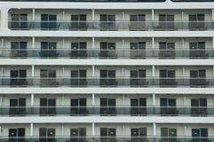 Sänder balconys Arkivfoto