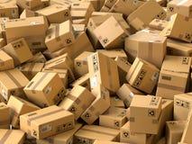 Sändnings- och logistikbegrepp stock illustrationer