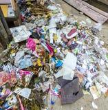 Sänfte und Abfall in Jodhpur Lizenzfreies Stockbild